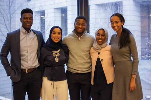 Students attend the 2nd annual Black Career Conference