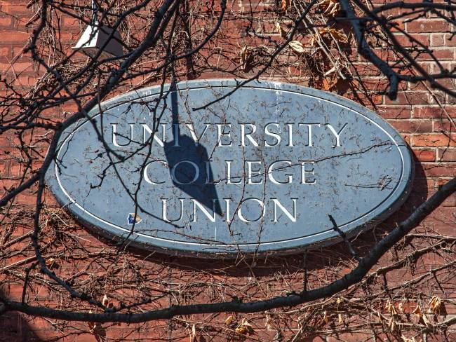 UC Union Building Sign