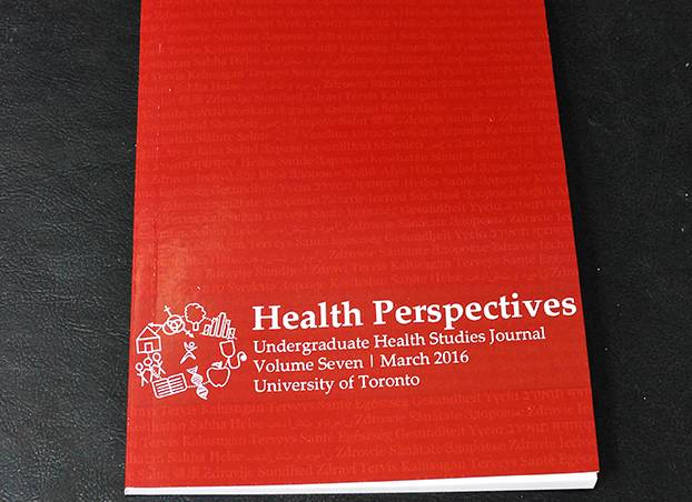 Front cover of HSSU publication Health Perspectives
