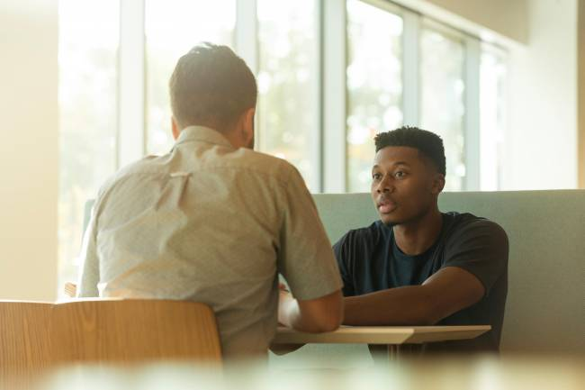 counselling, students, stock image