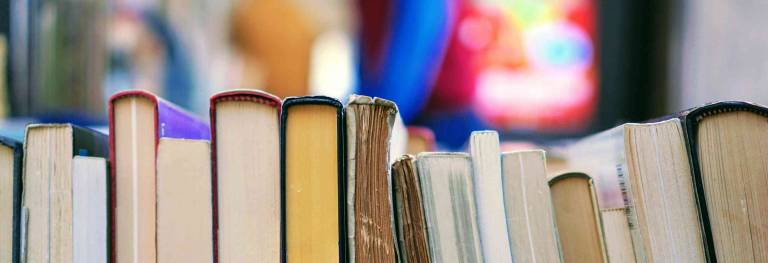 Volunteer for the UC Book Sale