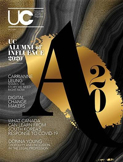 UC Magazine Fall 2020 Cover